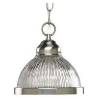 Prismatic Glass Collection One-Light Mini-Pendant