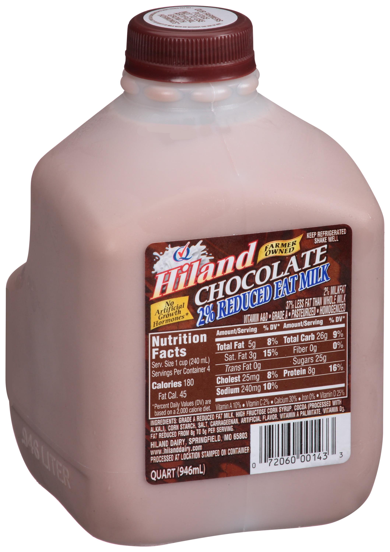 Hiland 2% Reduced Fat Chocolate Milk