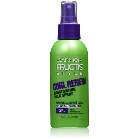 Garnier Fructis Style Curl Renew Reactivating Milk Spray Natural Hair