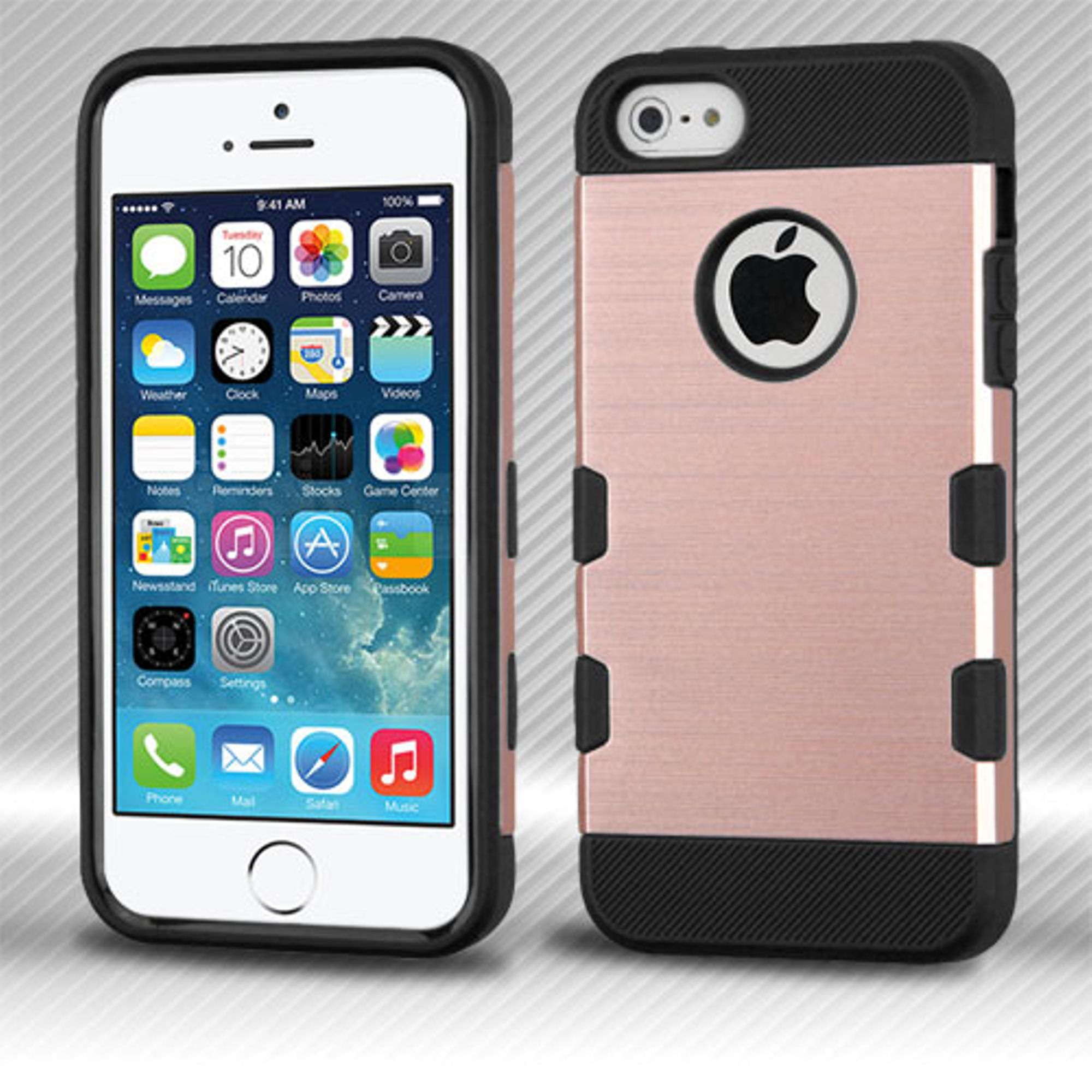 iPhone SE case, iPhone 5s Case, iPhone 5 case, by MyBat Hard TPU Cover Case For iPhone SE 5 5S case cover