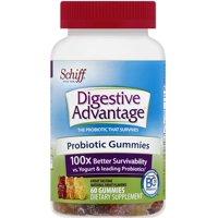 4 Pack - Digestive Advantage Probiotic Gummies 60 ea