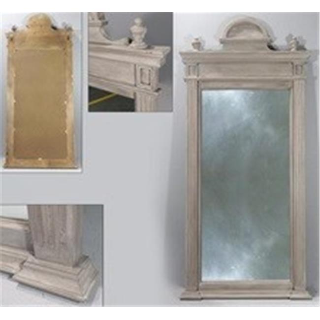 Superieur VIP Home U0026 Garden MT2683 Wood Mirror   Antique White