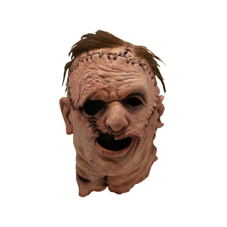 Trick Or Treat Studios The Texas Chainsaw Massacre Remake: Leatherface Halloween Costume Mask - Leatherface Mask