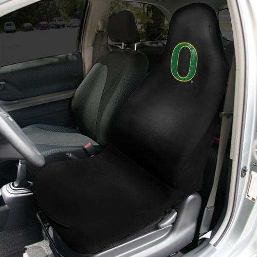 Oregon Ducks Car Seat Cover - Black