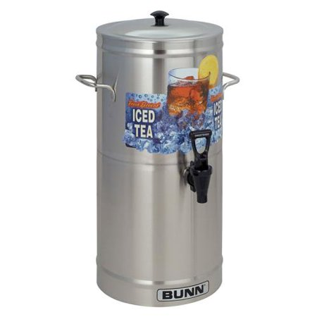 Bunn - TDS-3 - 3 Gallon Iced Tea Dispenser Bunn Stainless Steel Beverage Dispenser