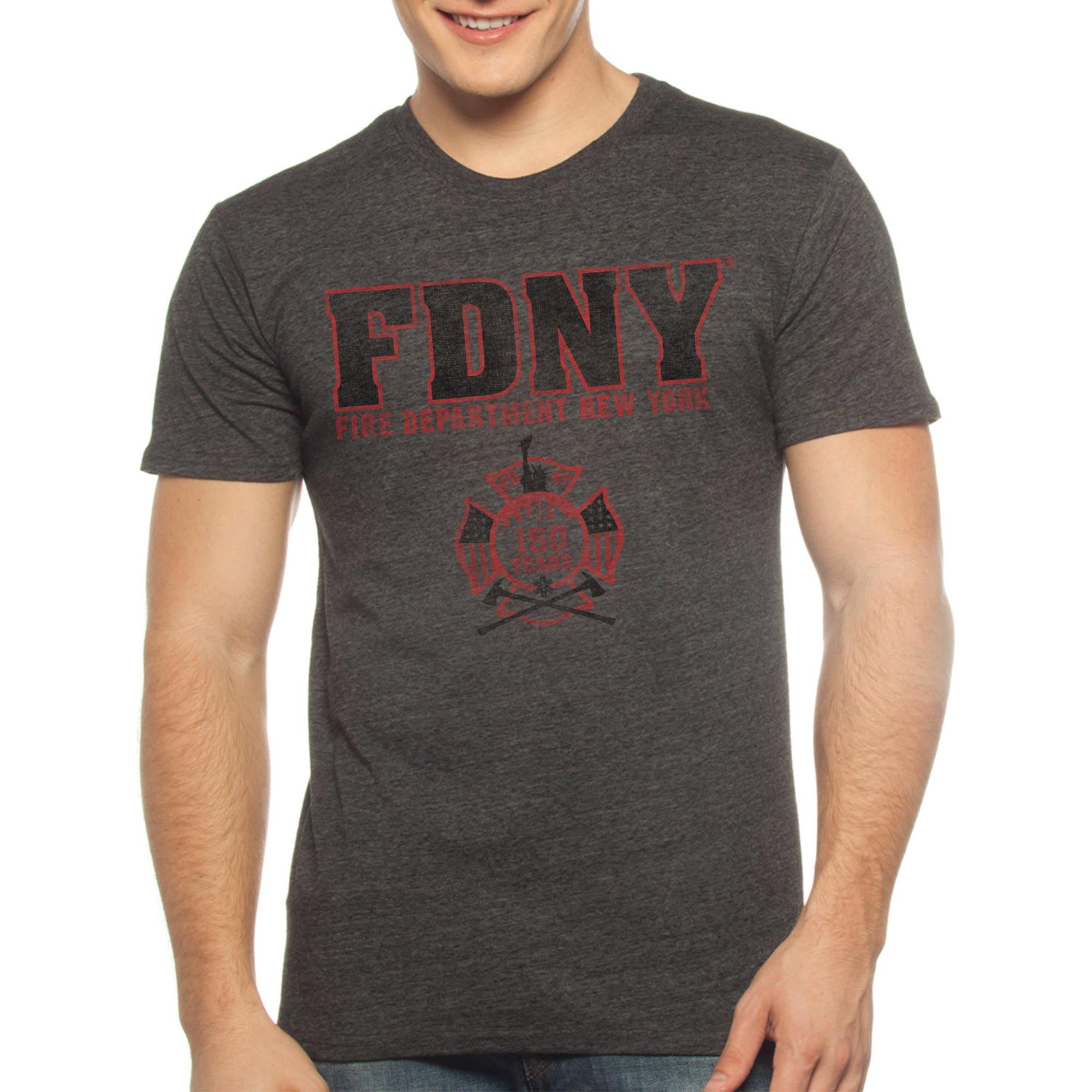 Fire Department New York FDNY Men's Short Sleeve Graphic Tee