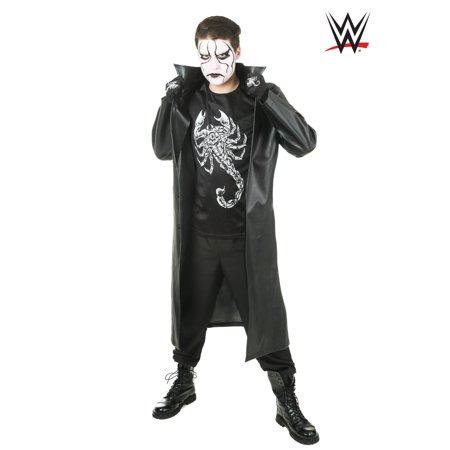 WWE Men's Sting Costume](Wrestling Halloween)