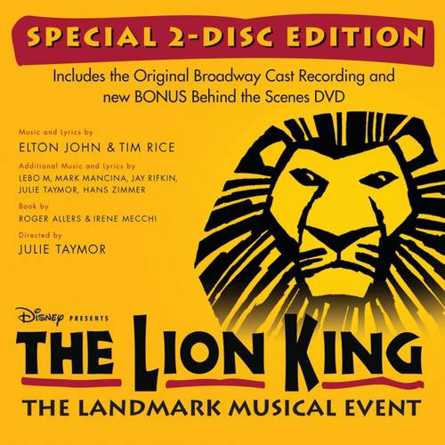 The Lion King On Broadway (Special Edition) (CD/DVD)