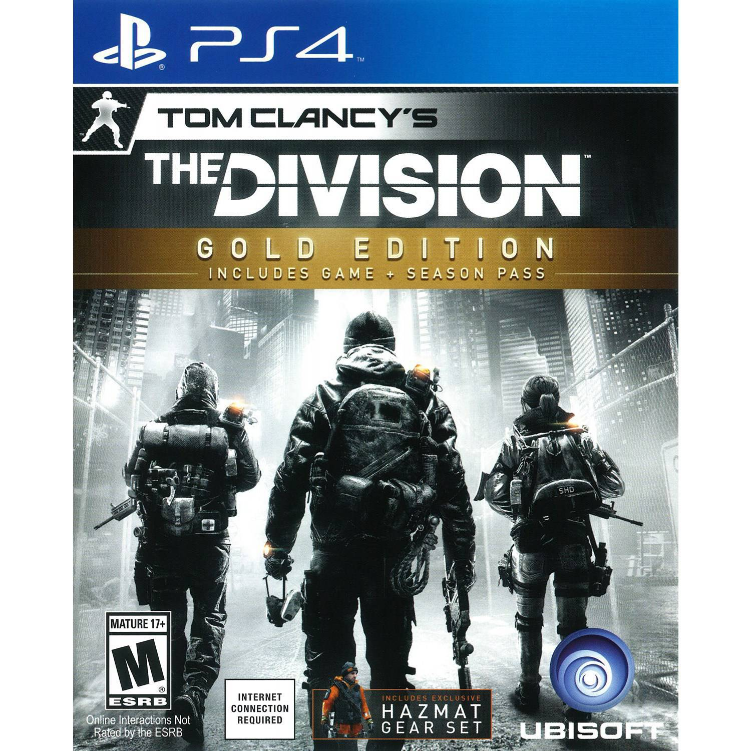 Tom Clancy's: The Division Gold Edition (PS4)