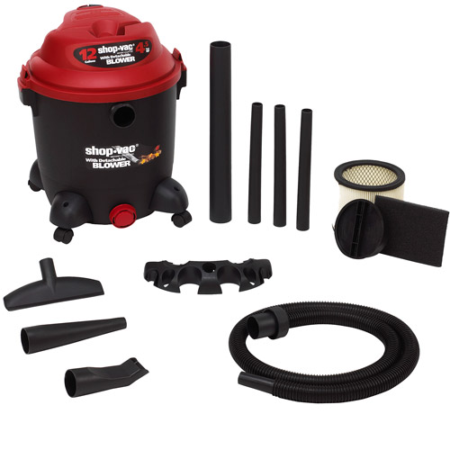 Shop-Vac 12 Gallon 4.5 Peak HP Vacuum w  Detachable Blower, 9631200 by Shop-Vac