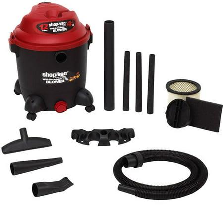 Shop-Vac 12 Gallon 4.5 Peak HP Vacuum w/ Detachable Blower, 9631200