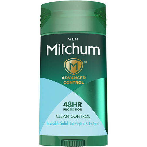 Mitchum Invisible Solid, Clean Control, 2.7 Oz