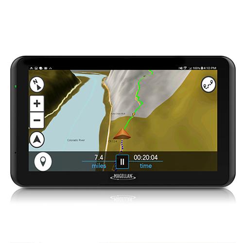 Magellan TN7771SGLUC eXplorist TR7 7 Inches Touchscreen Trail And Street GPS Navigator