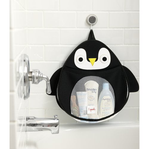 3 Sprouts Bath Storage Penguin by 3 Sprouts