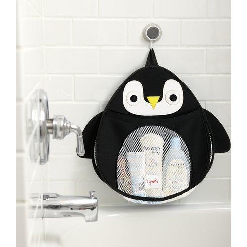 3 Sprouts Bath Storage - Penguin