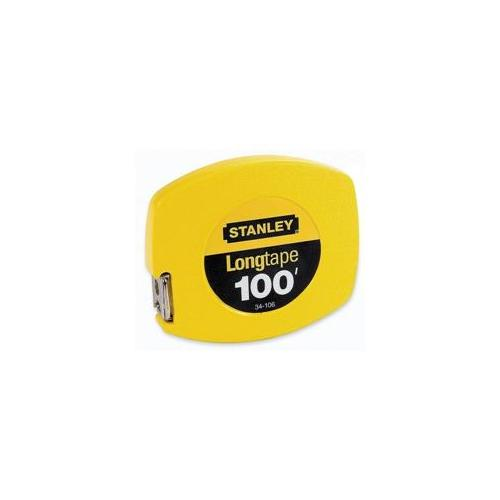 Stanley Bostitch Stanley Bostitch Tape Measure, 100 ft.  Long, 5-. 88 inchx6-. 88 inchx. 75 inch, Yellow