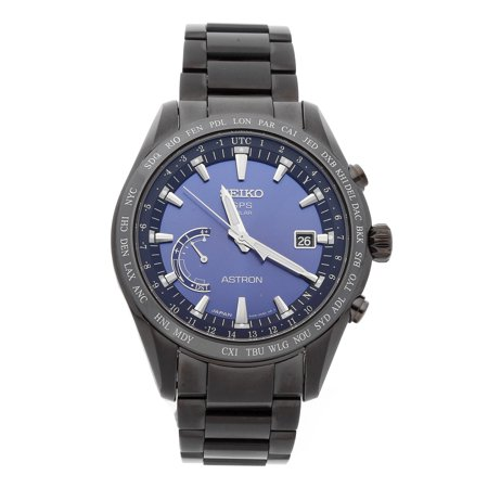 Pre-Owned Seiko Astron GPS Solar World Time SSE111