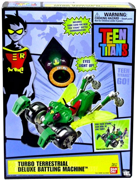 Teen Titans Go! Turbo Terrestrial Deluxe Battling Machine by