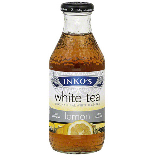 Inko's White Lemon Tea, 16 oz (Pack of 12)