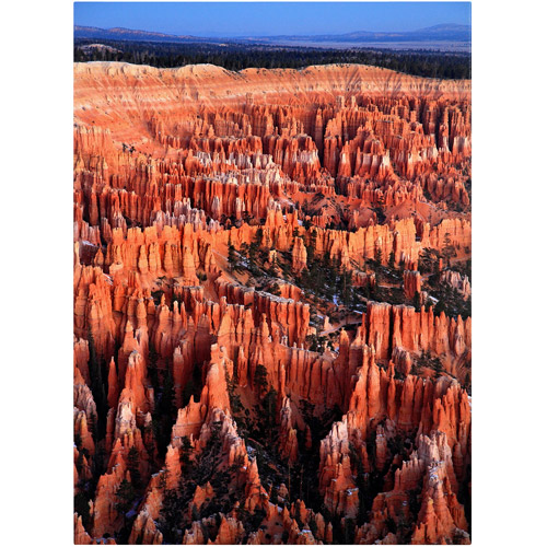 "Trademark Fine Art ""Bryce Sunrise"" Canvas Art by Pierre Leclerc"