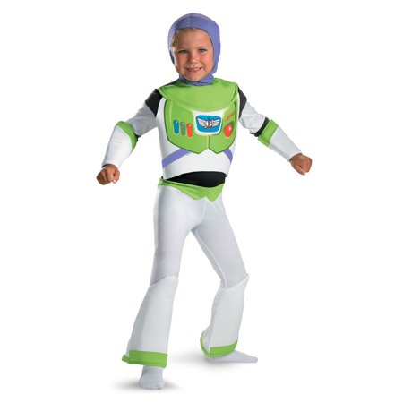 Buzz Lightyear Toy Story Deluxe Child Costume DIS5233 - 3T-4T - Buzz Lightyear Costume For Men