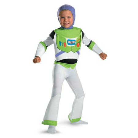 Buzz Lightyear Toy Story Deluxe Child Costume DIS5233 - 3T-4T](Mens Buzz Lightyear Costume)