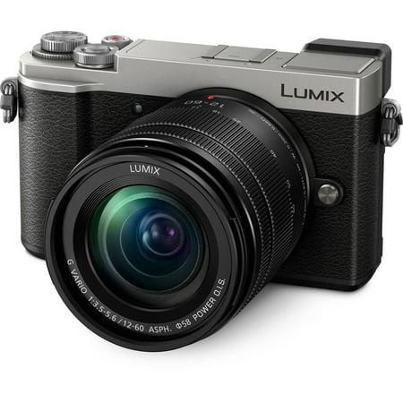 Panasonic LUMIX GX9 Mirrorless 4K ILC Camera 20.3 MP w/ 12-60mm Kit Lens (Silver) DC-GX9MS