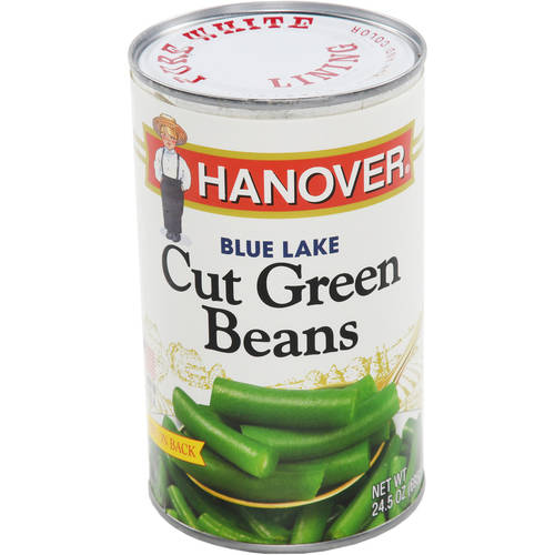 Hanover Garden Fresh Blue Lake Cut Green Beans, 24.5 oz
