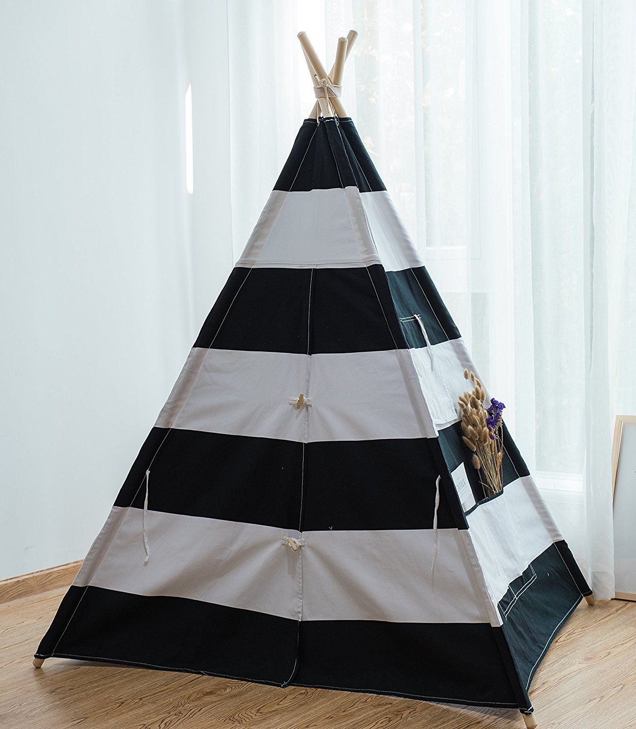 Pericross Kids Teepee Tent Indian Play Tent Childrenu0027s Playhouse For  Outdoor And Indoor Play