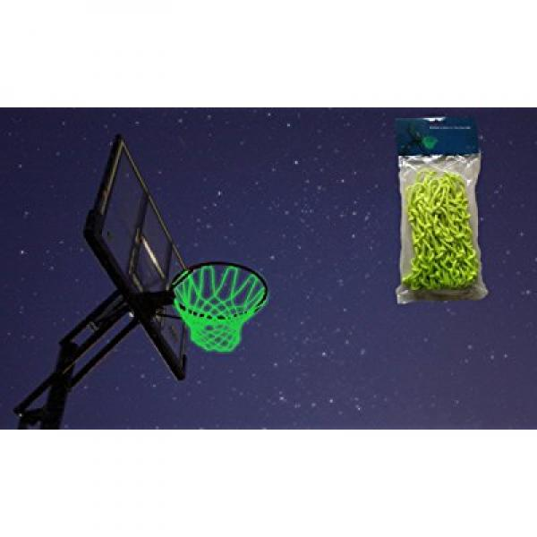 MCNICK Glow in the Dark Outdoor Basketball Net Rim Hoop Heavy Duty