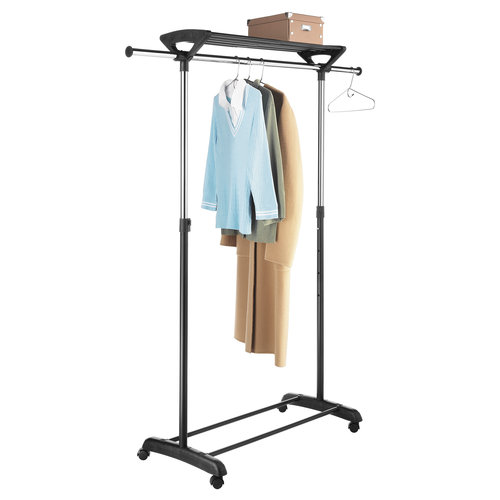 Mainstays Adjustable Rack With Shelf