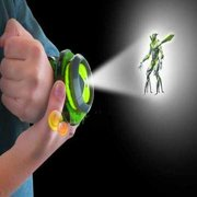 Ben 10 Alien Force Omnitrix Illumintator Projector Watch Toy Gift for Child Kids X'mas gift