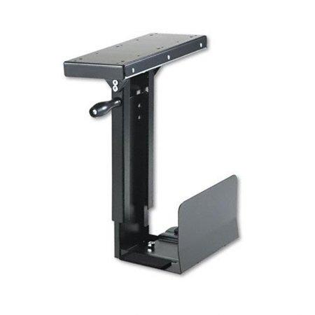 Ergo-Comfort Swivel Mount CPU Holder - Black