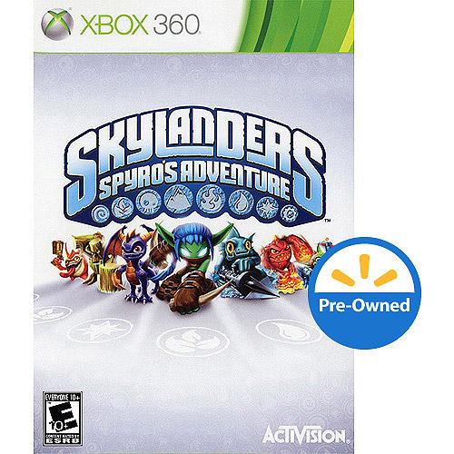 Skylanders Spyros Adventure - Game Only (Xbox 360) - Pre-Owned