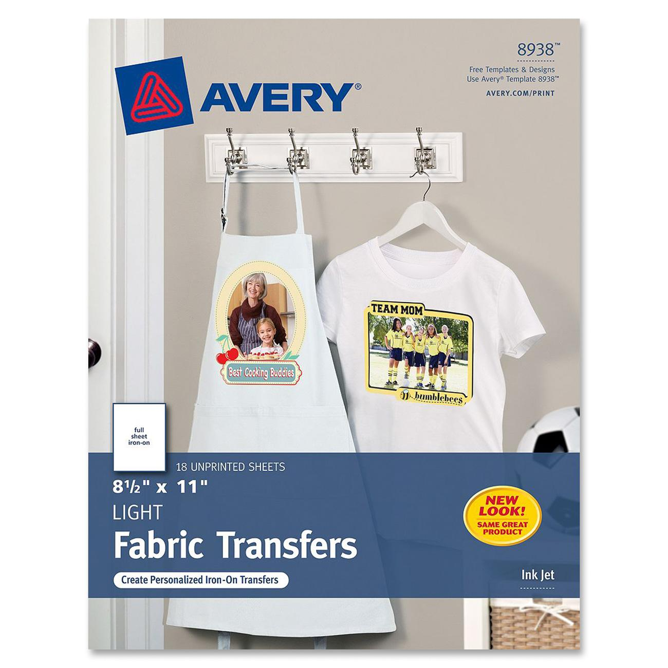 Avery Iron-on Transfer Paper by Avery Personal Creations