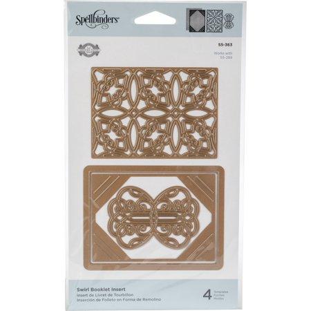 Spellbinders S5-363 Shapeabilities Swirl Booklet Insert Etched/Wafer Thin Dies