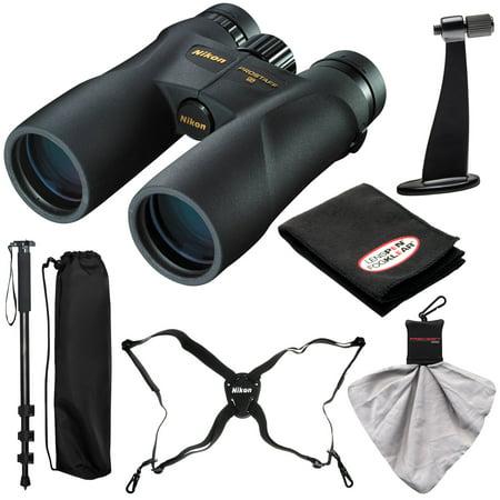 Nikon Prostaff 5 10x42 ATB Waterproof / Fogproof Binoculars with Case + Harness + Smartphone Adapter + Cleaning Kit