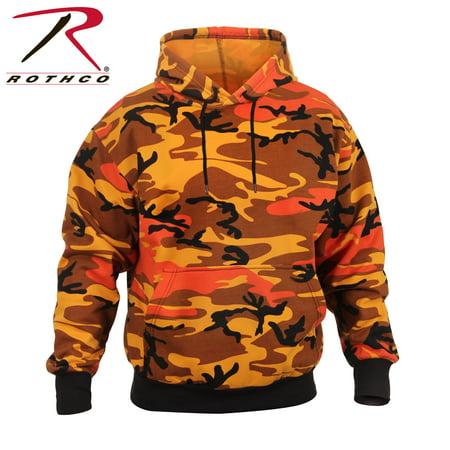 Rothco - Rothco Camo Pullover Hooded Sweatshirt - Savage Orange Camo ... f64fbfef8f6