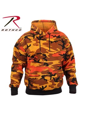 Product Image Rothco Camo Pullover Hooded Sweatshirt - Savage Orange Camo e29c4e28a3f