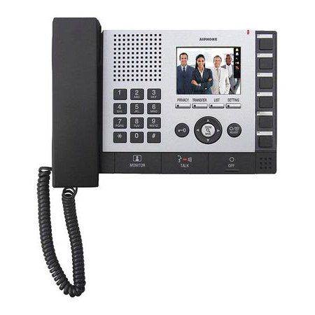 Aiphone Hid Reader - AIPHONE IS-MV Master Station,24VDC,7-7/16