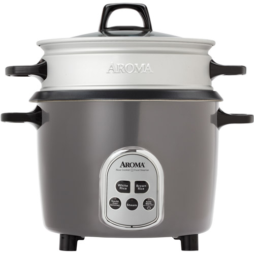 Aroma 14-Cup Digital Rice Cooker and Food Steamer