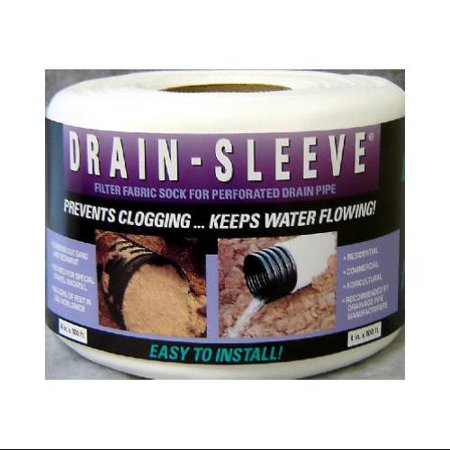 Advanced Drainage Systems 4 Inch Diameter X 10 Ft  Drain Sleeve