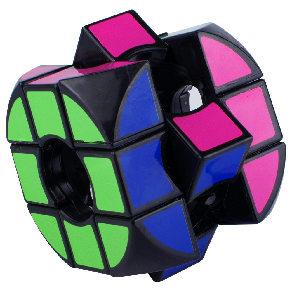 Peralng Speed Rubik Cube, Black Base Magic Rubik colorful Puzzles Educational Special Toys Brain Teaser Gift Box, 3x4 Stickerless Develop Brain And Logic Thinking Ability Best Gift
