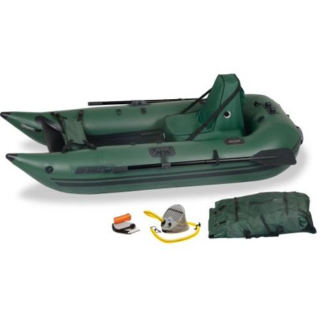 Sea Eagle 285FPB Frameless Inflatable Pontoon Boat Deluxe Package (Tahoe Pontoons)