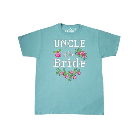 Uncle of the Bride With Roses T-Shirt (Bride Onesie)