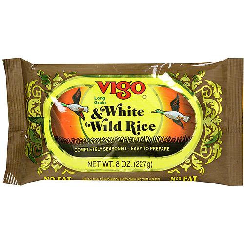 Vigo Long Grain White & Wild Rice, 8 oz (Pack of 12)