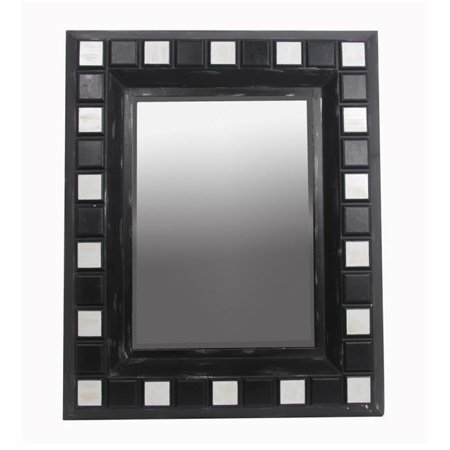 - Rectangle Mirror - Beveled Glass, 48 x 3 x 39 in.