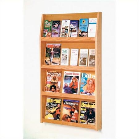 Scranton & Co Literature Holder in Light Oak