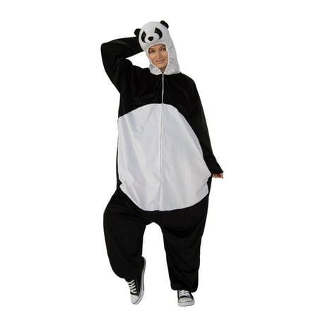 Halloween Costume Wear Glasses (Halloween Panda Comfy Wear Adult)