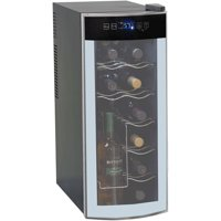 Avanti Quiet 12-Bottle Thermoelectric Counter-top Wine Cooler - Stores Open Bottles!